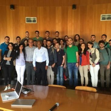 Marie Curie PLENOSE: Seminario del prof. Sundar V. – Lecture of Professor Sundar