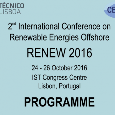 2nd International Conference on Renewable Energies Offshore
